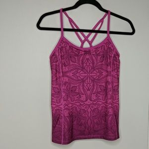 Athleta Harmonious Strappy Tank Top - Size S - EUC